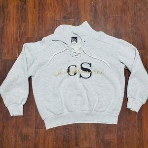 Gulf Shores vintage 90s sweatshirt hoddie!